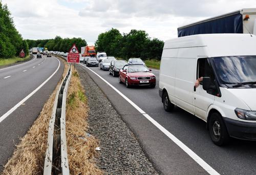 £7.6m improvements for congested roads in Northamptonshire