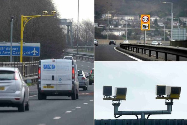 New M4 speed cameras catch 7,000 drivers in six months