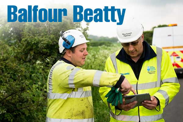 Balfour Beatty awarded £55 million extension for West Sussex highways works