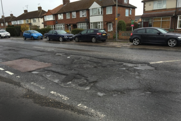 Work will begin to repair series of nasty potholes on key road