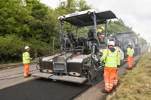 VIDEO | Highways England new resurfacing technology a UK first