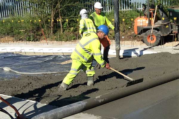 LMS Highways | Salt Barn Concrete Bay – First Phase Successfully Completed
