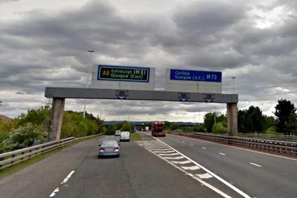 Sign work will mean months of delays on Scotland's busiest motorways