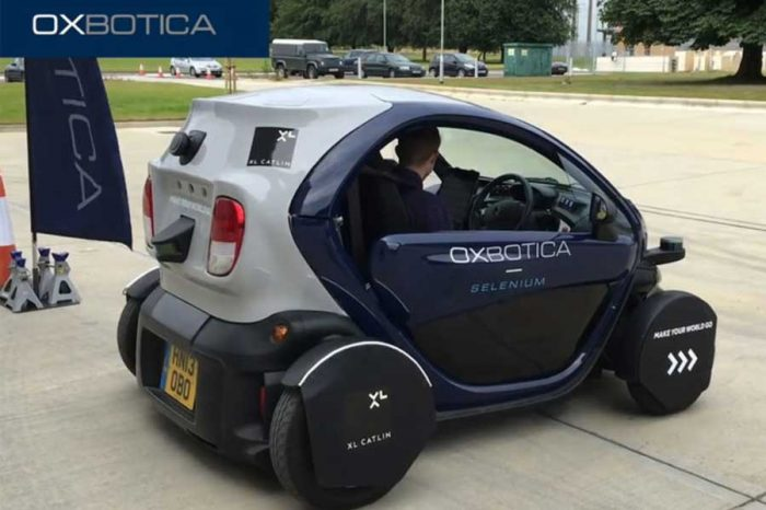 Driverless cars go on trial in Milton Keynes