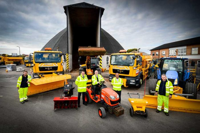 Gritters out on the roads as wintry weather hits East Lancashire