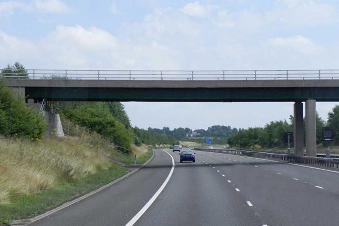 Staffordshire bridge work completed early
