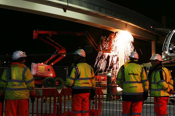 Eurovia Contracting   Major Milestone on Kent Elms Junction Upgrade