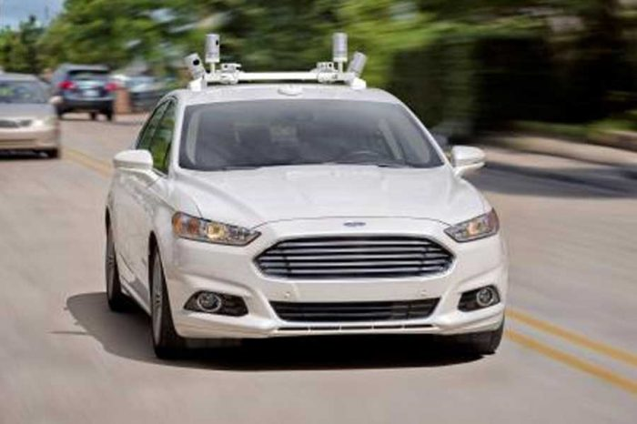 Ford to test autonomous cars in the UK and Europe in 2017