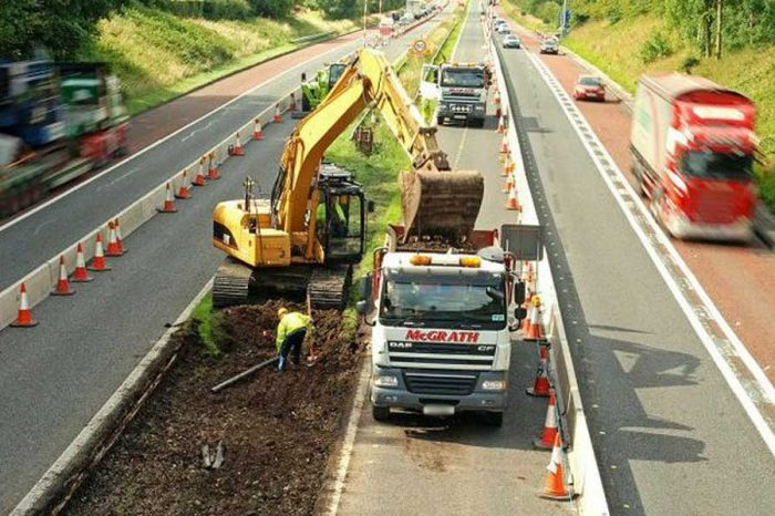 Government trials 60mph roadworks speed limit on the motorways