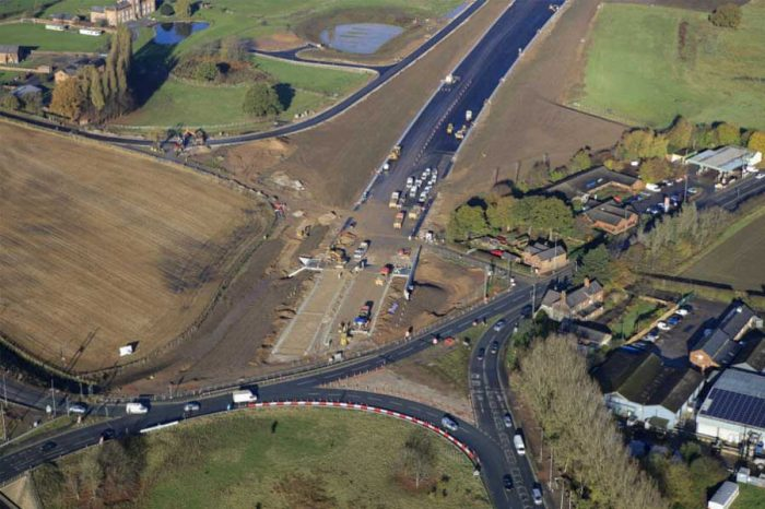 Weekend closures for final phase of £192m dual carriageway project