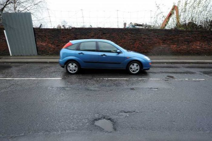 Ford wants to create a map that warns drivers about potholes