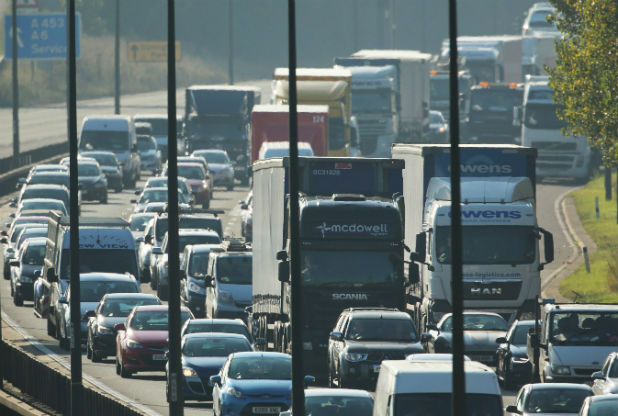 Plan to upgrade the M1 at Castle Donington to 'smart' motorway is unveiled
