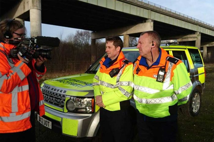 North West traffic officers featured in Channel 5 documentary
