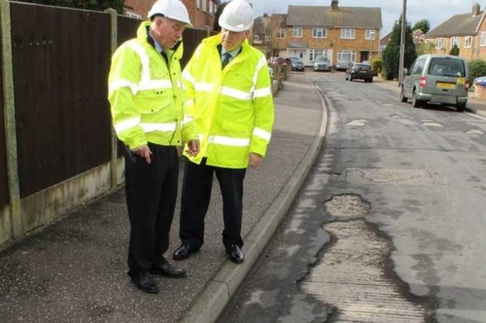 New road treatment goes on trial in Chelmsford