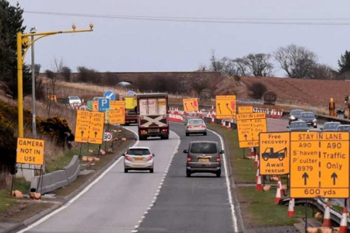Average speed cameras on part of A90 come into force at Stonehaven