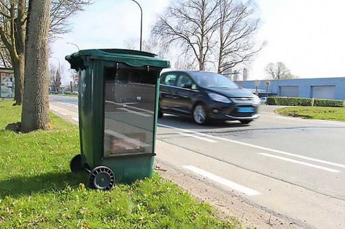 Innovative 'super speed camera' hidden in a bin could be making its way to Britain
