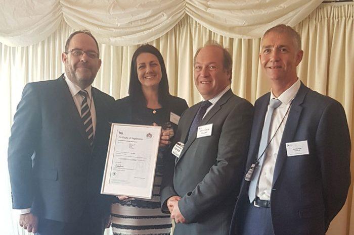 Eurovia UK | ISO 44001 Achieved
