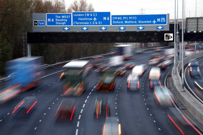 VIDEO | 1,700 crashes reported on M25 smart motorway in three years