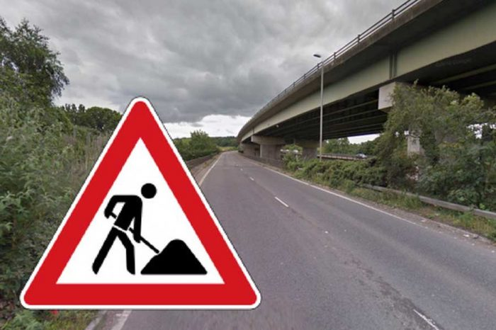 A38 slip road will close every night for almost a fortnight