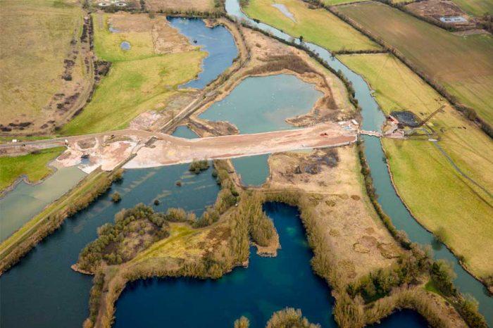 A14 Cambridge to Huntington upgrade takes shape