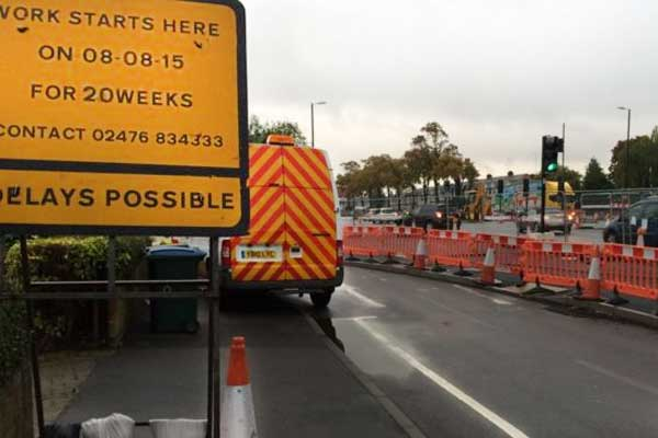 Roadworks nightmare revealed as jobs in England are overrunning by up to NINE MONTHS