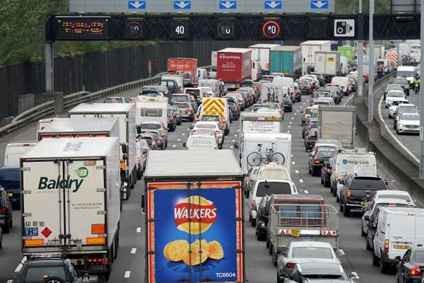 Which is the UK's slowest motorway?