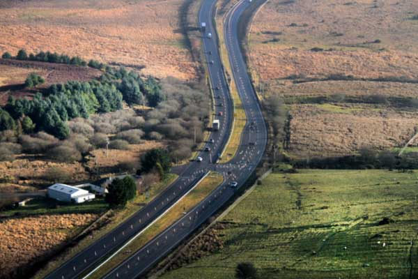 A30 Cornwall roadworks end sees Bodmin Temple dual carriageway officially opened