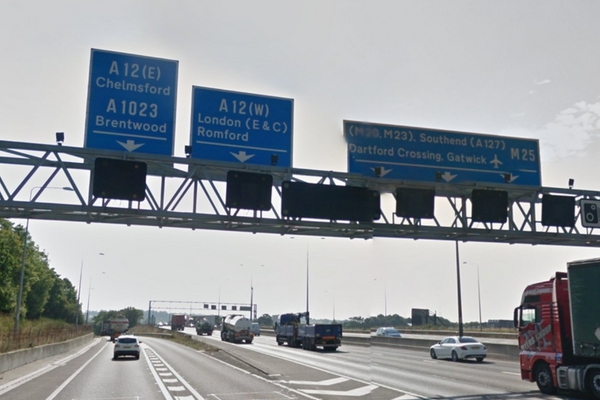 Improvements to M25 junction linked to A12 have been given the go-ahead