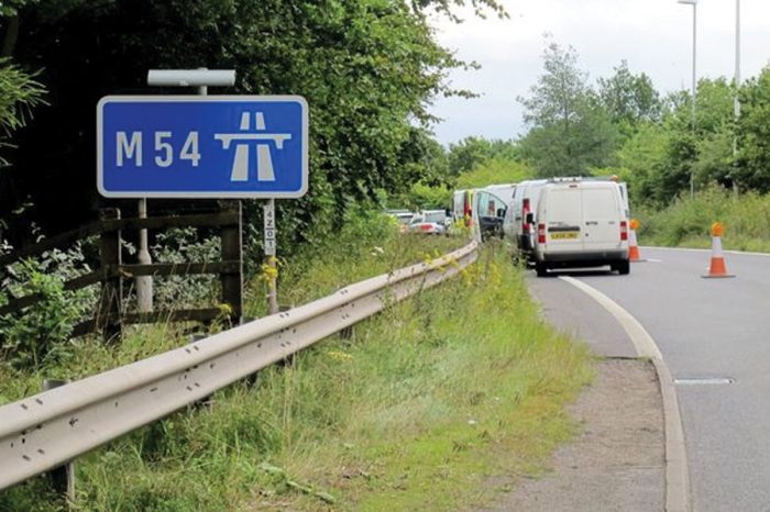 New roadworks and speed limits on busy Midland motorway