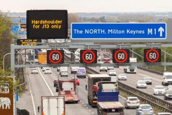 This is how Highways England says you should drive on a 'smart motorway'