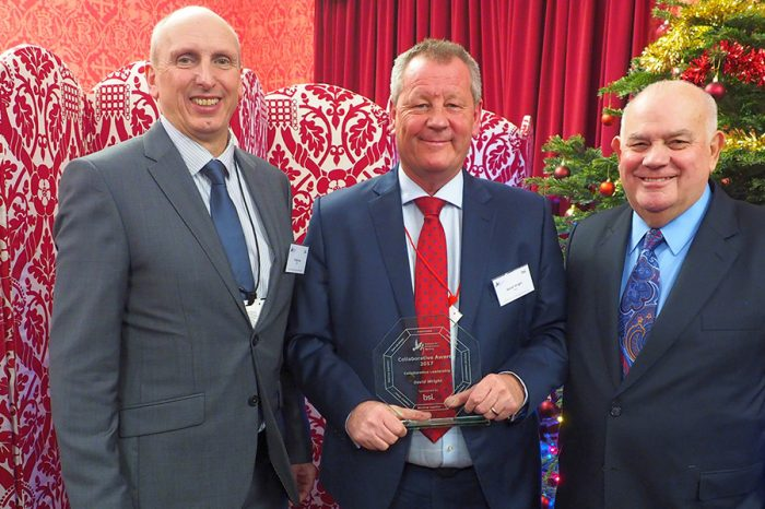 Kier Director receives industry recognition with award for outstanding leadership and collaboration