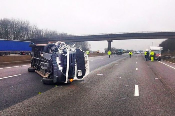 Driver who parked car on the M1 caused horror smash