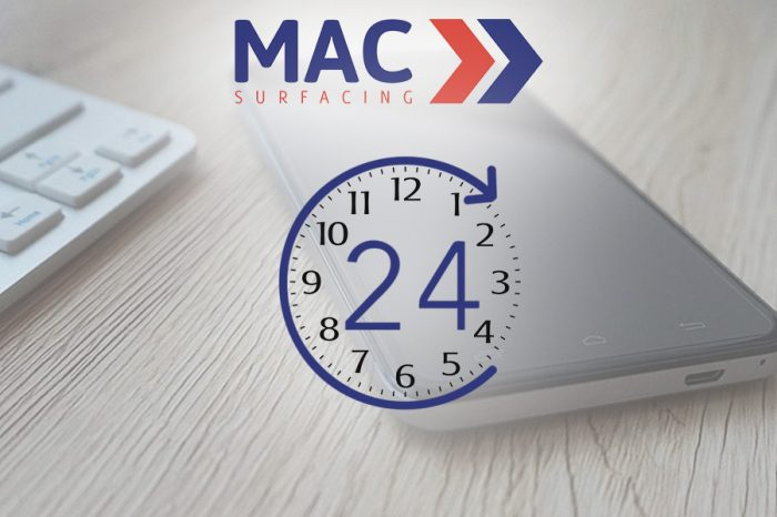 MAC Surfacing | 24/7 Service Makes the Difference