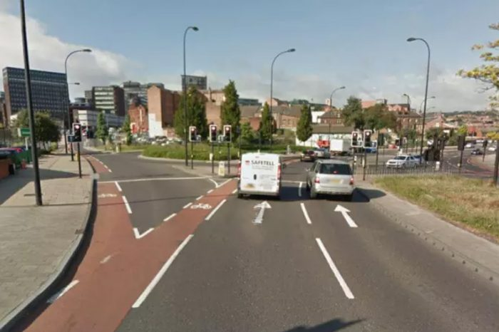 """Newly-resurfaced Sheffield roads turning into """"death traps"""""""