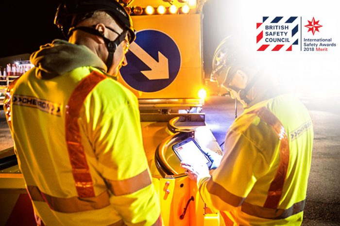 Chevron TM | Celebrating International Safety Award