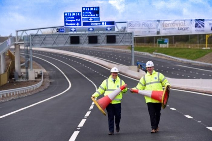 Ferrovial suffers £48m loss on M8 project