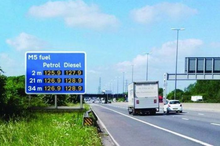 Plans for £50million petrol and diesel prices signs on motorways scrapped