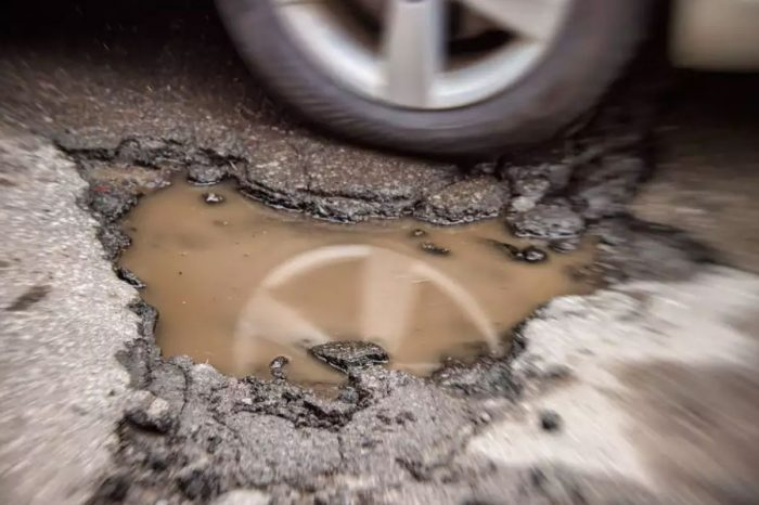 Potholes are now causing £915m of damage to cars each year
