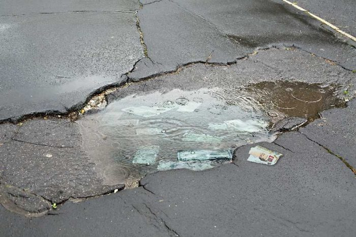 Motorists welcome Trafford's £14.4 million potholes plan