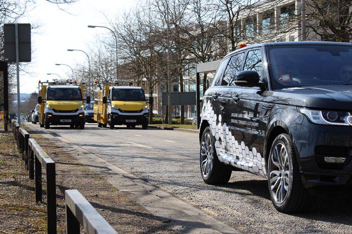 Ringway | East Midlands Milton Keynes team takes part in trial of autonomous vehicles on UK's public roads