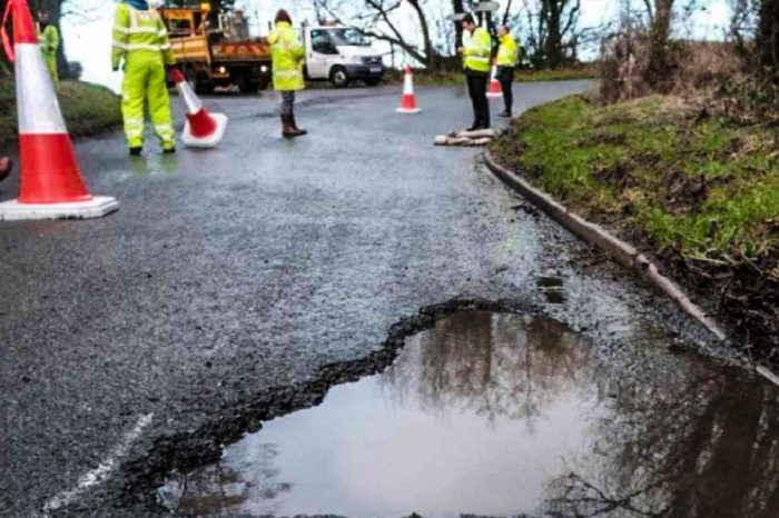 Council to press ahead with permanent road repairs