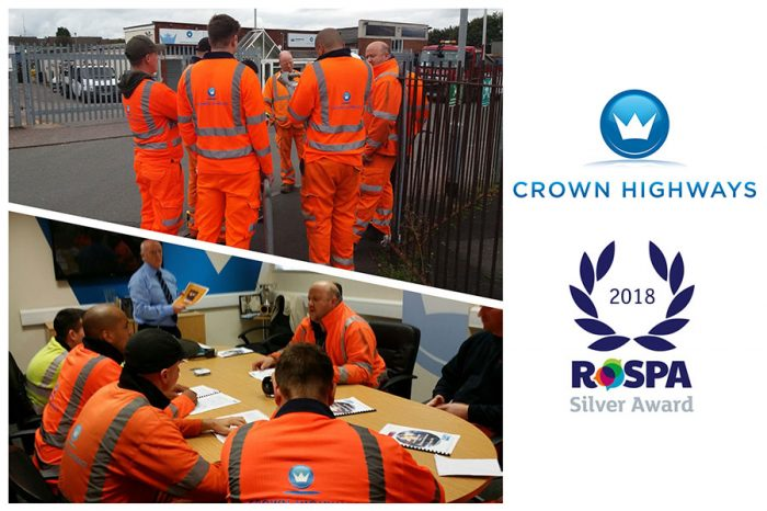 Crown Highways | RoSPA Silver Award for Health & Safety Practices