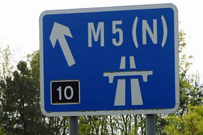 M5 through Gloucestershire to be partially closed for three months
