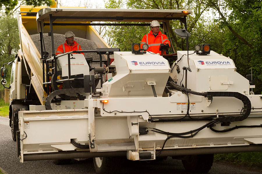 Eurovia Specialist Treatments | Business Manager appointed new Road Surface Treatments Association chairman