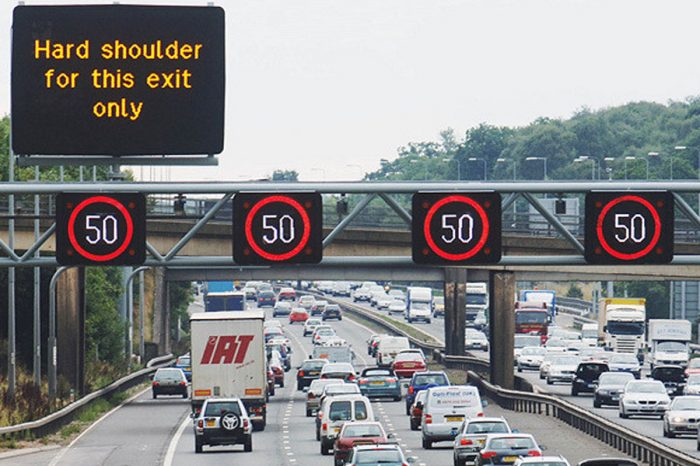 Hard shoulders removed to stop half of routes becoming full by 2050
