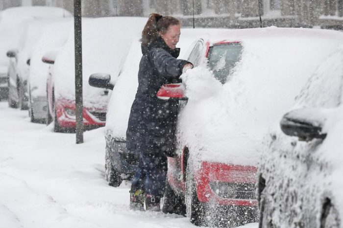 Last month's winter storms deprived cost councils nearly £5m in parking fines