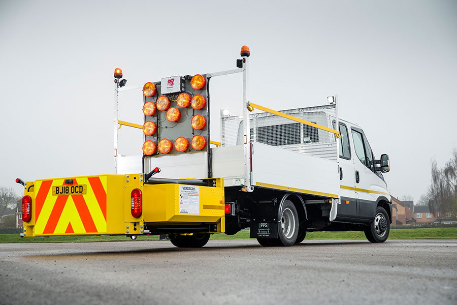 Asset Alliance | 'Life-saving' 3.5 tonne Urban Crash Cushion demonstrator