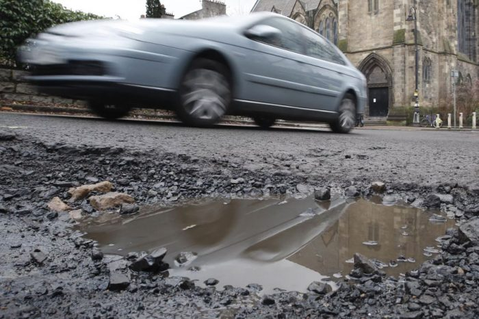 Nine out of 10 drivers say roads have 'considerably deteriorated' as pothole plague spreads into residential streets