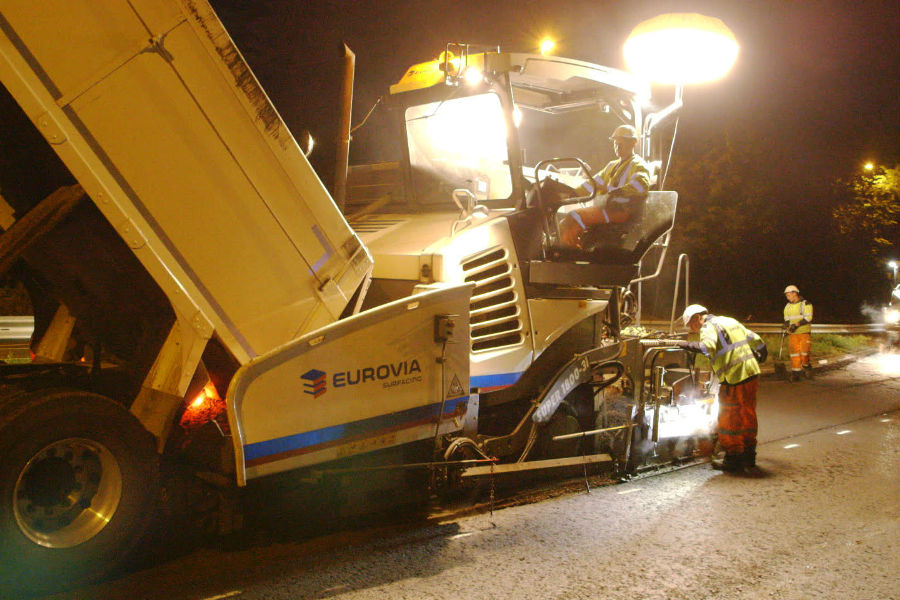 Eurovia Infrastructure | Major resurfacing contract win in Kent